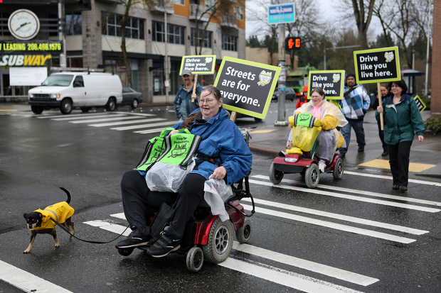 Members of the Free Wheelers participate. (LCL photo)