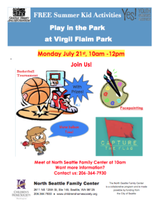 STEP Event -- Play in the Park July 21st