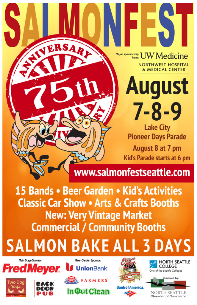 SalmonFest Seattle 2015 Poster
